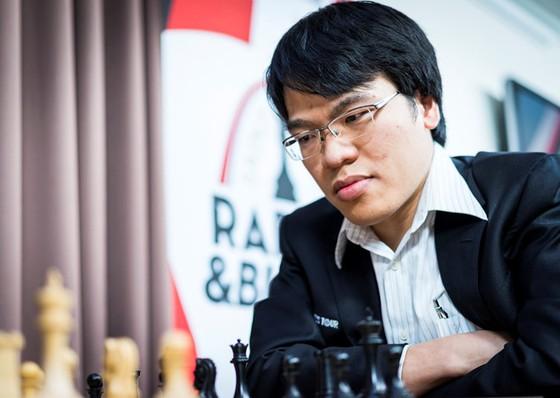 Lê Quang Liêm đã thua tại vòng 2 World Cup cờ vua năm nay. Nguồn: GCT