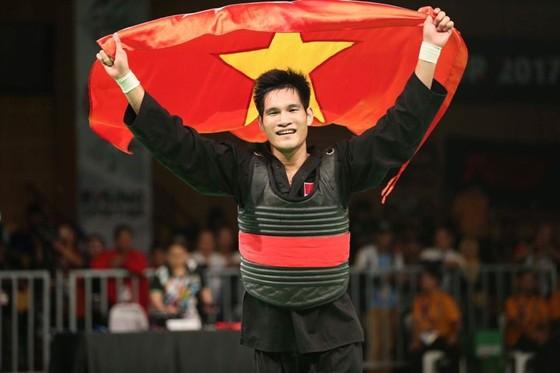 Võ sỹ Nguyễn Duy Tuyến tiếp tục thành công tại giải châu Á. Ảnh: NGỌC HẢI