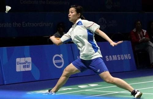 Thùy Linh đã có chức vô địch đơn nữ tại Lào. Ảnh: M.HOÀNG