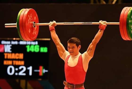 Kim Tuấn vẫn là niềm hy vọng huy chương tại giải VĐTG 2017. Ảnh: DŨNG PHƯƠNG