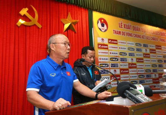 HLV Park Hang Seo tin sẽ có bất ngờ tại VCK U23 châu Á 2017. Ảnh: MINH HOÀNG
