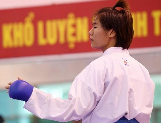 Nguyễn Thị Ngoan đã không có chiếc huy chương ở giải quốc tế đầu năm 2018. Nguồn: karatedoVN