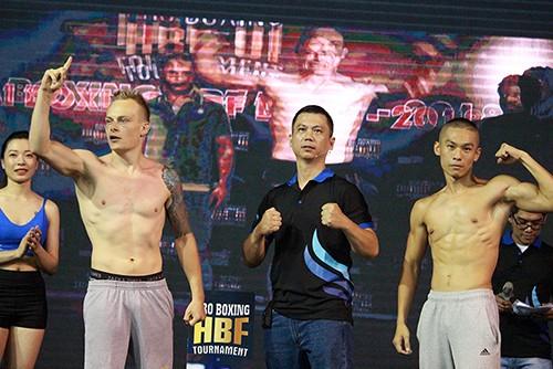 Giải Boxing HBF lần 1 năm 2018: 20 võ sĩ trong nước và nước ngoài tham dự ảnh 1