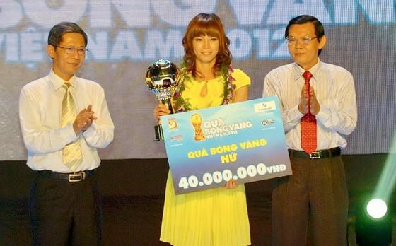 Kiều Trinh tại Gala trao giải năm 2012