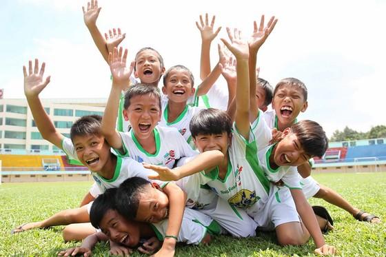 Sau khi thành công ở mô hình đào tạo trẻ, Công ty Nutifood bắt đầu đầu tư vào bóng đá đỉnh cao. Ảnh: DŨNG PHƯƠNG