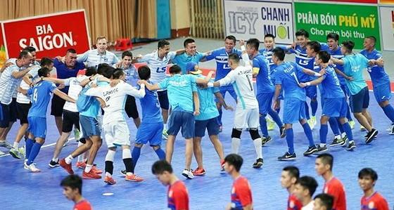 CLB Thái Sơn Nam đoạt cú ăn 3 ở mùa giải năm ngoái. Ảnh: ĐỨC DUY
