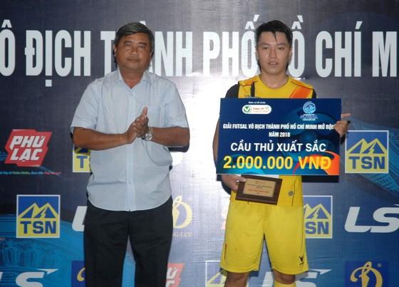 Thái Sơn Nam Q.8 vô địch giải futsal TPHCM 2018 ảnh 2