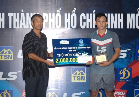 Thái Sơn Nam Q.8 vô địch giải futsal TPHCM 2018 ảnh 3