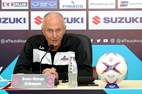 HLV Sven-Göran Eriksson muốn thắng ngược Việt Nam ở bán kết lượt về AFF Cup 2018 ảnh 1