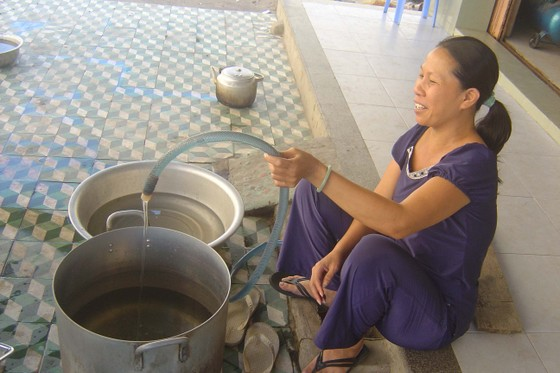 Đà Nẵng: Khẩn trương triển khai các dự án cấp nước sinh hoạt cho người dân ảnh 1