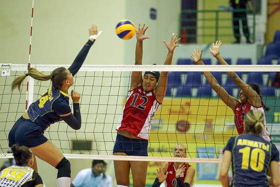 Cúp bóng chuyền nữ quốc tế VTV9 Bình Điền 2018: Thắng nhanh đối thủ, BIP và Giang Tô vào bán kết ảnh 3