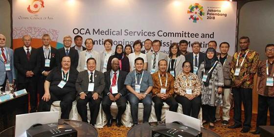 Asiad 18: Indonesia tập trung cao độ cho y tế và phòng chống doping ảnh 1