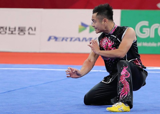 Wushu: Phạm Quốc Khánh xếp hạng nhì Nam quyền ảnh 2