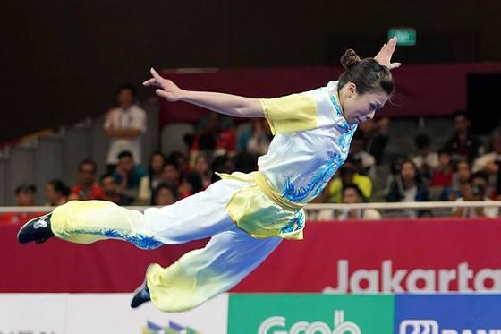 Wushu: Hoàng Thị Phương Giang đoạt HCĐ Trường quyền ảnh 1