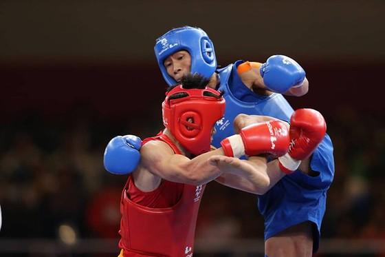 Wushu: Võ sĩ Bùi Trường Giang đoạt HCB hạng cân 56kg ảnh 1