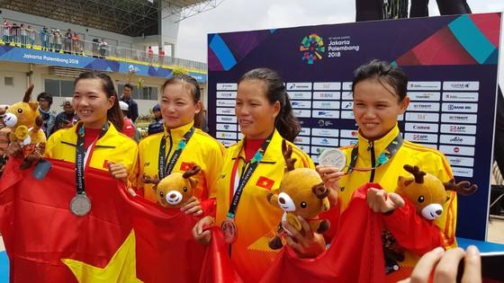 Rowing: Các tay chèo nữ giành thêm 1 tấm HCB