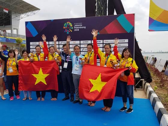 Rowing: Các tay chèo nữ giành thêm 1 tấm HCB ảnh 1