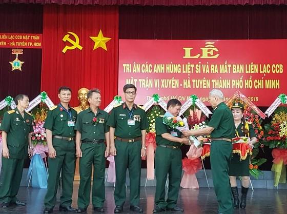 Ra mắt Ban liên lạc truyền thống Mặt trận Vị Xuyên - Hà Tuyên TPHCM ảnh 1