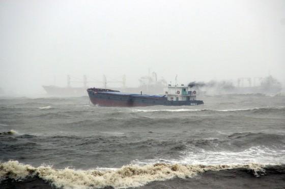 VIDEO: Tàu nước ngoài nghi chở dầu bị bão đánh vào mỏm đá, dầu lênh láng khắp vùng biển ảnh 7