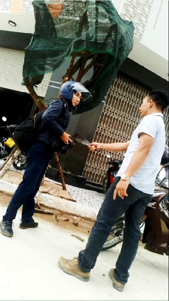 Điều tra, làm rõ việc PV Dương Dũ Tuấn bị côn đồ cầm dao dọa giết tại Bình Định ảnh 3