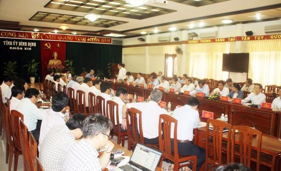 Bình Định tiếp tục kiến nghị Trung ương sớm chi phối và kiểm soát cảng Quy Nhơn ảnh 1