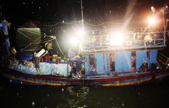Tàu cá trên 1 tỷ bị sóng biển nhận chìm, 10 ngư dân thoát chết nhờ can nhựa... ảnh 3