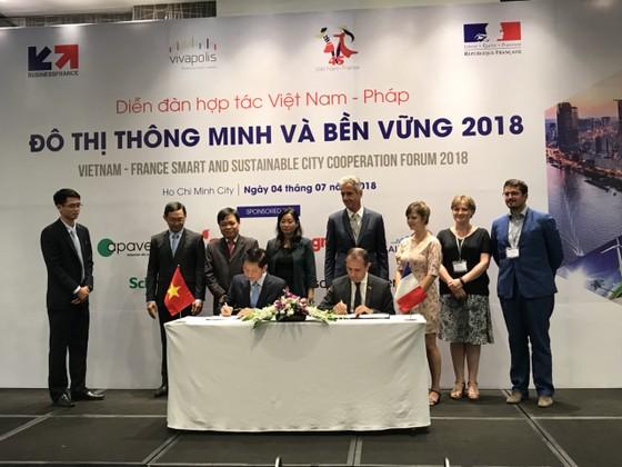 Diễn đàn hợp tác Việt Nam - Pháp 2018: Hướng đến xây dựng đô thị thông minh ảnh 1