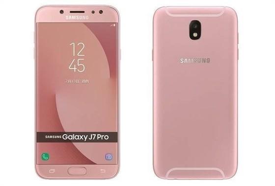 Galaxy J7 Pro hồng dành cho phái đẹp