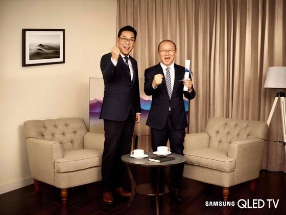 HLV Park Hang Seo là Đại sứ thương hiệu Samsung tại Việt Nam