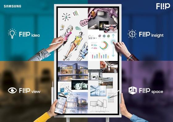 Cuộc họp hiện đại với Samsung Flip
