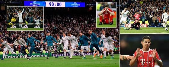 Real Madrid - Bayern Munich 2-2 (chung cuộc 4-3): Kền Kền giành vé vào chung kết