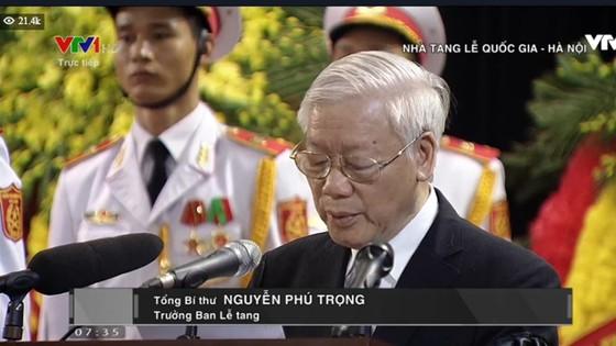 Lễ truy điệu, đưa tang Chủ tịch nước Trần Đại Quang ảnh 2