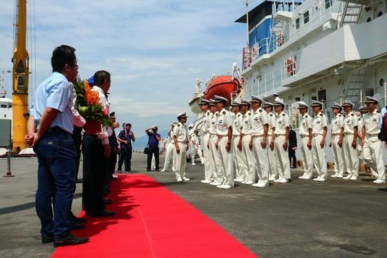 Tàu Bảo vệ bờ biển Nhật Bản cập cảng Tiên Sa, thăm chính thức Đà Nẵng ảnh 3