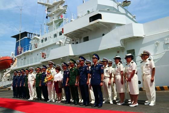 Tàu Bảo vệ bờ biển Nhật Bản cập cảng Tiên Sa, thăm chính thức Đà Nẵng ảnh 4