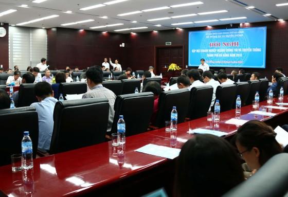 Lãnh đạo TP Đà Nẵng gặp gỡ các doanh nghiệp thông tin truyền thông ảnh 2