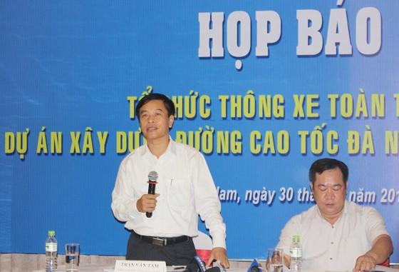 Cao tốc Đà Nẵng- Quảng Ngãi thông xe vào ngày 2-9 ảnh 1