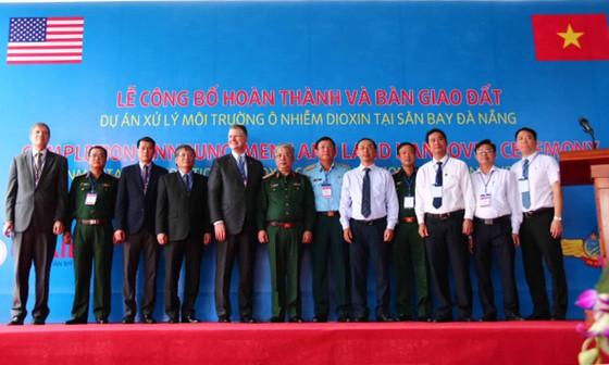 Hoàn thành xử lý ô nhiễm dioxin tại sân bay Đà Nẵng ảnh 6