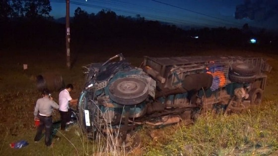 Tai nạn liên hoàn trên quốc lộ 1 qua địa phận Quảng Nam ảnh 2