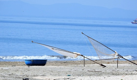 Dọc biển là ngư lưới cụ của ngư dân đánh bắt gần bờ