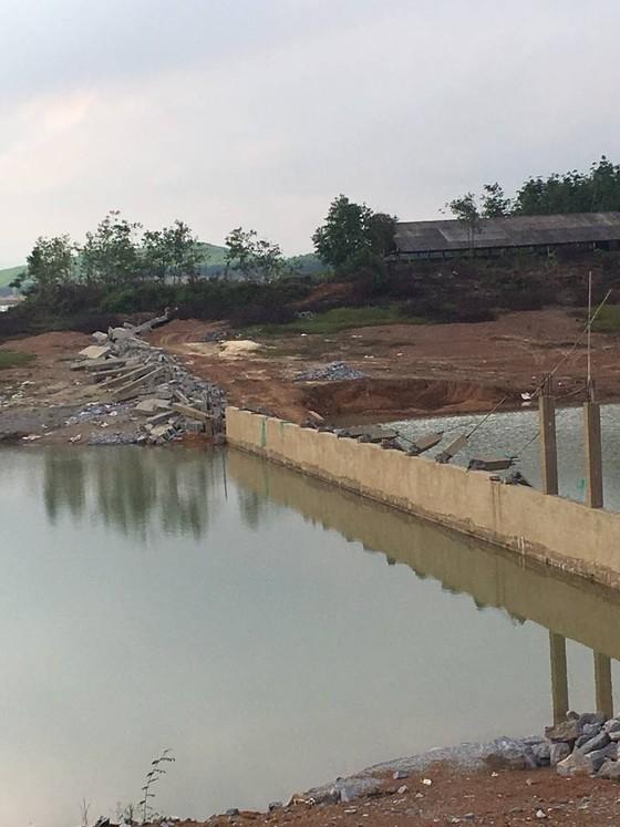 Quảng Bình: Xử lý nửa vời việc xây dựng trái phép tại hồ An Mã ảnh 1