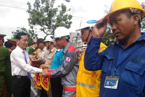 Hàng trăm Cảnh sát PCCC tham gia Hội thi cứu nạn cứu hộ lần I-2017 ảnh 1