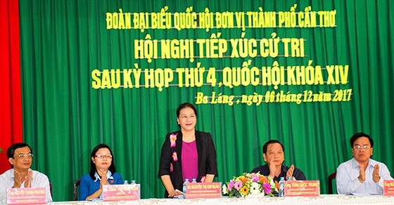Chủ tịch Quốc hội Nguyễn Thị Kim Ngân:Cần xem xét các trạm BOT đặt không đúng vị trí ảnh 1