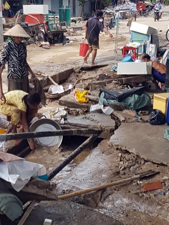 Kiên Giang: Hàng trăm nhà dân xã đảo Lại Sơn bị ngập do mưa bão ảnh 2