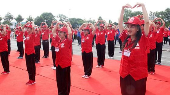 Khai mạc Hội trại Tình nguyện viên, thanh niên Chữ thập đỏ toàn quốc ảnh 2