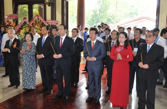 Chủ tịch nước Trần Đại Quang dự kỷ niệm 130 năm ngày sinh Chủ tịch Tôn Đức Thắng ảnh 1