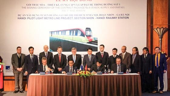 7.600 tỉ đồng cho gói thầu 6 dự án metro Nhổn-ga Hà Nội ảnh 1