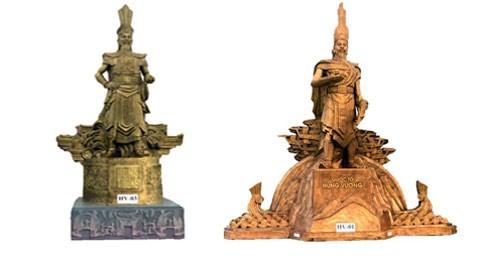 Phú Thọ giới thiệu mẫu tượng đài Hùng Vương ảnh 1