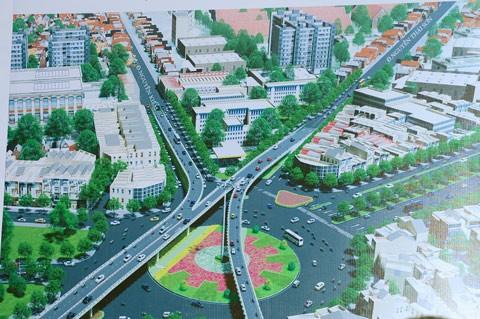 Khởi công 2 cầu vượt vào sân bay Tân Sơn Nhất ảnh 2