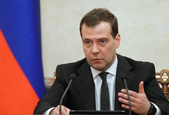 D.Medvedev tái đắc cử Chủ tịch đảng Nước Nga thống nhất ảnh 1