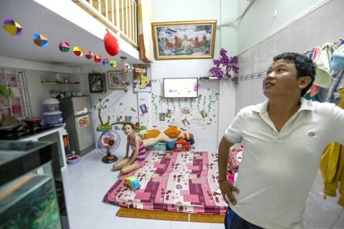 Cuộc sống trong khu nhà 100 triệu đồng ở Bình Dương ảnh 3
